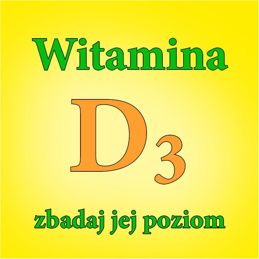 Zbadaj poziom witaminy D3