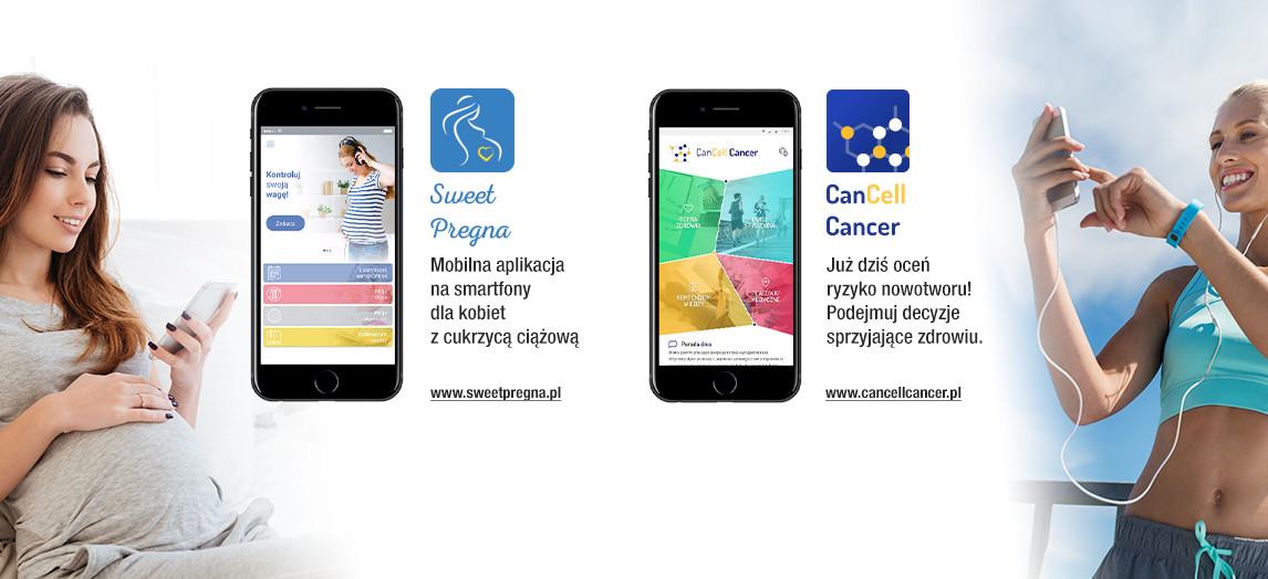 CanCell Cancer i SweetPregna – mobilne aplikacje NFZ